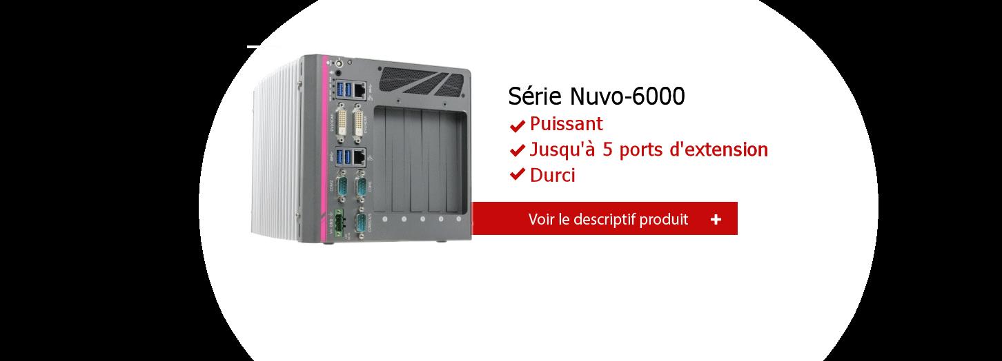 PC industriel Nuvo 6000 de NEousys