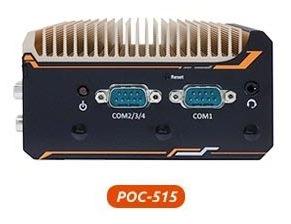PC compact POC-515 Neousys AMD Ryzen
