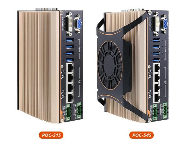 POC-500 NEOUSYS PC compact pour AMR Ryzen Embedded