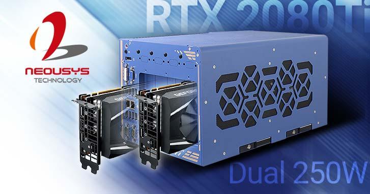 PC avec deux cartes graphiques  pour applications industrielles de GPU Computing