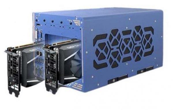 PC Nuvo-8208GC avec deux GPU Nvidia RTX2080Ti