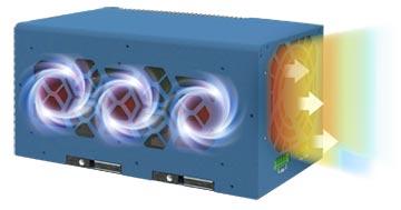 Système de dissipation thermique du PC Nuvo-8208GC